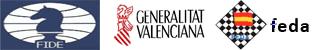 logos fide generalitat valenciana y feda