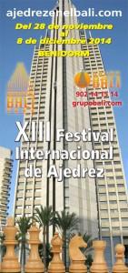 XIII FESTIVAL AJEDREZ HOTEL BALI @ Hotel Bali | Benidorm | Comunidad Valenciana | España