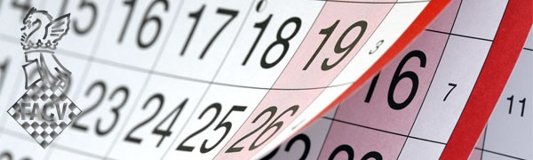 calendario torneos ajedrez Comunidad Valenciana, España