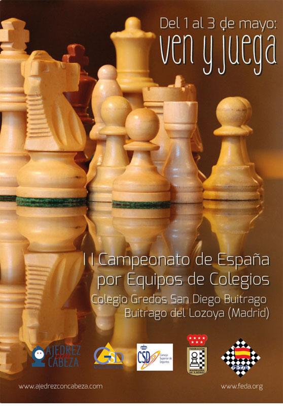 equipos colegios España ajedrez