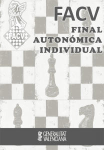final autonómica individual de ajedrez