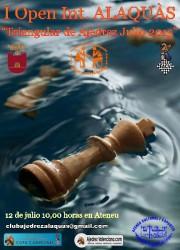 I OPEN INTERNACIONAL ALAQUÀS @ Ateneu Cultural i Esportiu   Alaquàs   Comunidad Valenciana   España