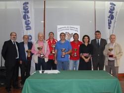 Premiados en el Nacional Veteranos Ajedrez