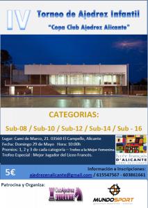 INFANTIL ALICANTE @ Polideportivo del Colegio Liceo Francés. | El Campello | Comunidad Valenciana | España