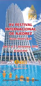FESTIVAL AJEDREZ BALI @ Hotel Bali | Benidorm | Comunidad Valenciana | España