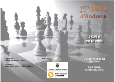 Andorra chess tournament