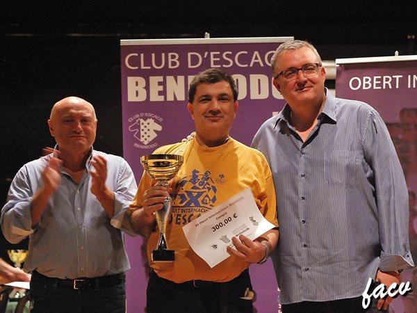 OPEN BENIMODO CARLOS CARBONELL Y LUIS BARONA