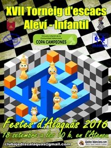 CARTEL TORNEO INFANTIL ALAQUAS