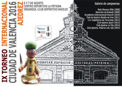 torneo ajedrez ciudad valencia