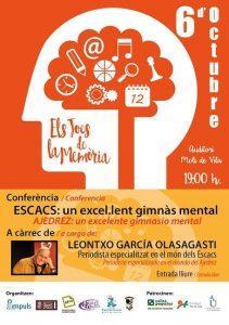 CONFERENCIA LEONTXO @ Auditori Moli de Vila | Cuart de Poblet | Comunidad Valenciana | España