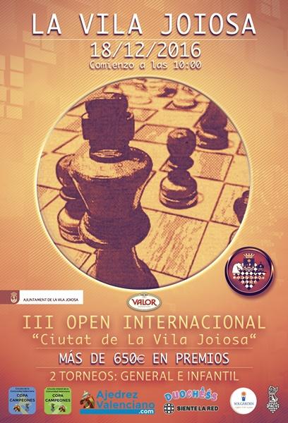 open ajedrez la vila joiosa