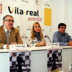 AJEDREZ VILA-REAL LUIS BARONA Y SILVIA GOMEZ Y JORGE ROMERO