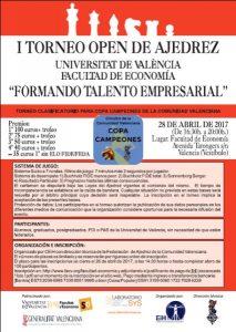 TORNEO UNIVERSIDAD VALENCIA @ Facultad de Economía de Valencia | València | Comunidad Valenciana | España