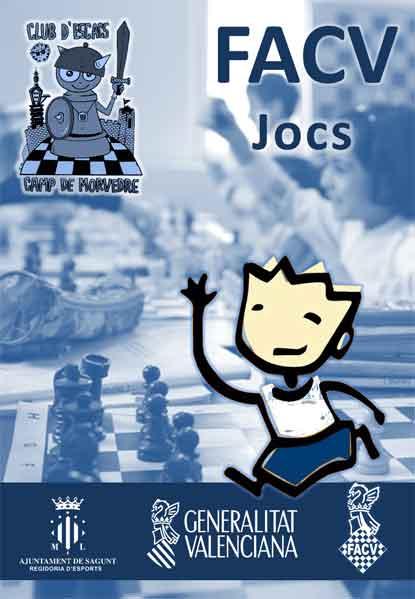 torneo ajedrez escolar sagunto