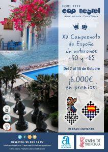 XV CTO. ESPAÑA VETERANOS @ Hotel Cap Negret **** | Altea | España