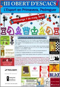 Torneo Ajedrez Pedreguer