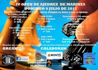 Torneo Ajedrez Marines