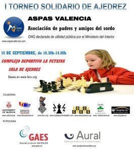 TORNEO SOLIDARIO ASPAS VALENCIA @ Complejo Deportivo La Pechina | València | Comunidad Valenciana | España