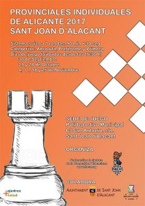 torneo ajedrez provincial alicante