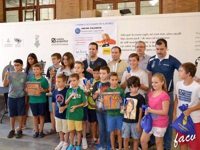 torneo ajedrez solidario aspas valencia