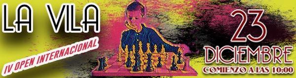 open ajedrez la vila
