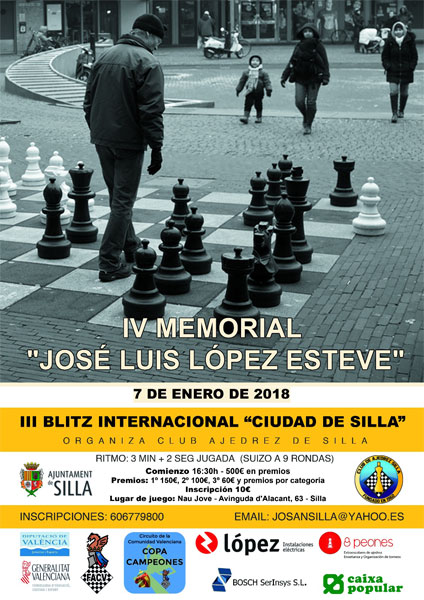 torneo ajedrez Silla Valencia