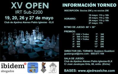 IRT S2200 ELX @ CLUB AJEDREZ ATENEO PABLO IGLESIAS ELX | Elx | Comunidad Valenciana | España