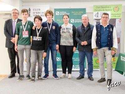 primeros clasificados sub-16 ajedrez jocs