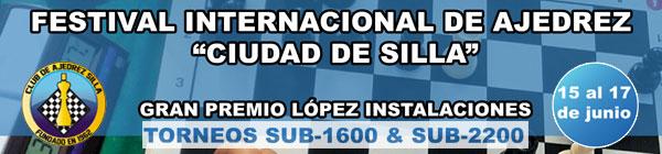 banner torneo ajedrez Silla, Valencia