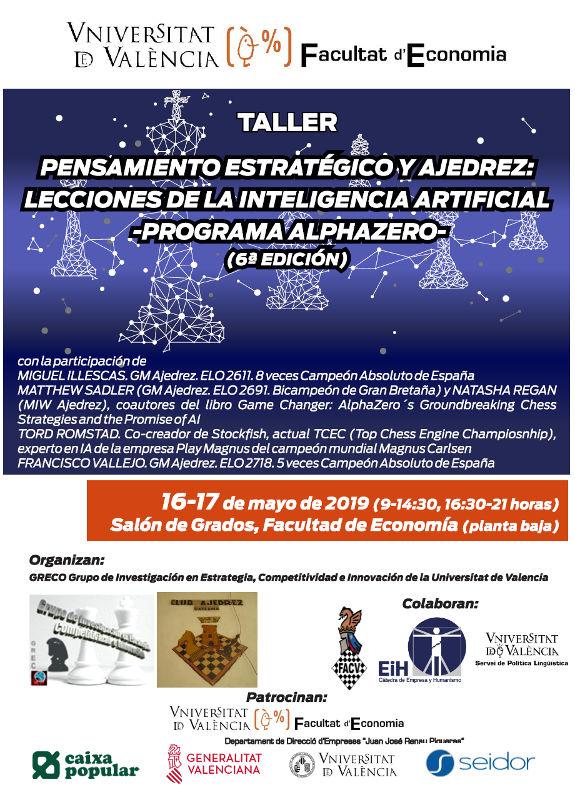 ajedrez facultad economía de Valencia