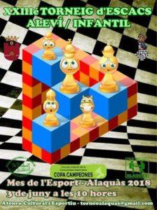 torneo ajedrez Alaquas