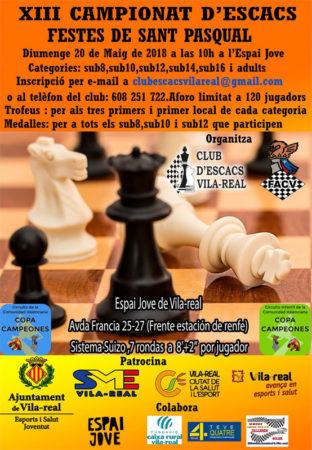 torneo ajedrez en Vila-real