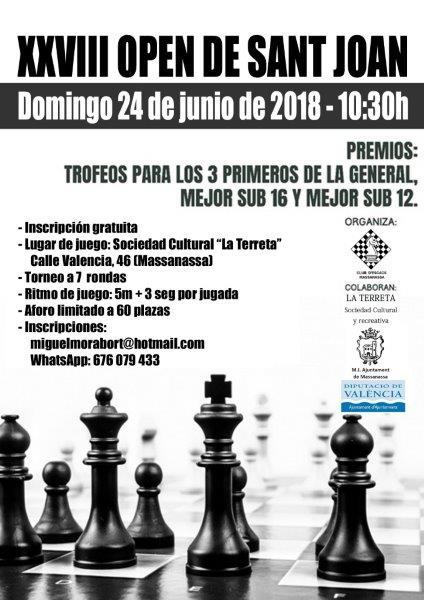 open ajedrez massanassa