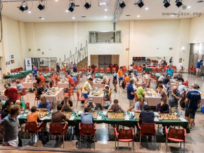 torneo de ajedrez sala de juego
