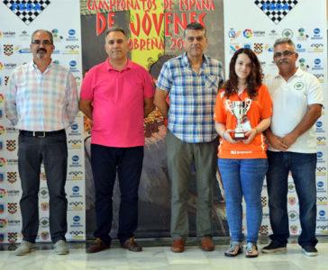 Marta García bronce biltz ajedrez