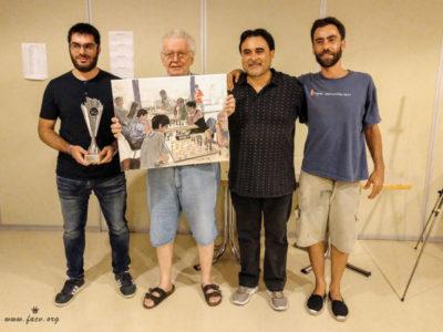 entrega premios torneo ajedrez Altea, Alicante, España