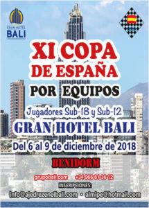 Copa España Ajedrez Equipos