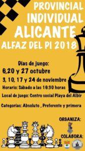 ajedrez Alicante Torneo
