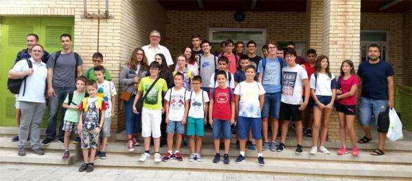 alumnos y profesores tecnificación ajedrez