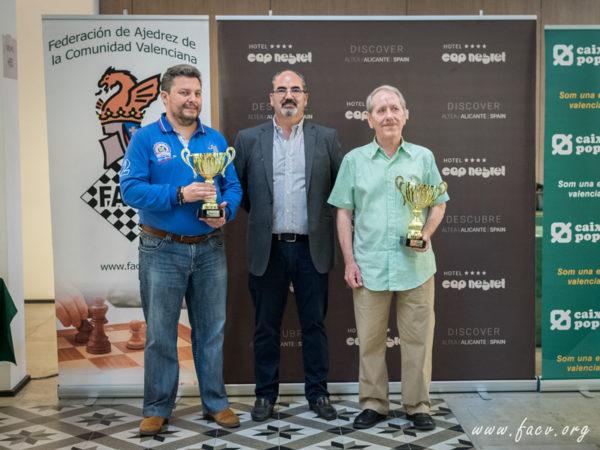 Campeones de España de Ajedrez Veteranos