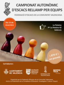 torneo ajedrez equipos en Valencia