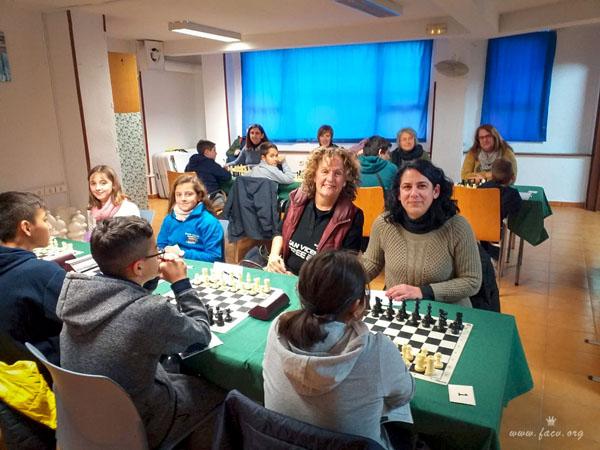 ajedrez femenino Comunidad Valenciana