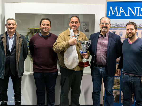 Antonio Granero campeón del torneo de ajedrez