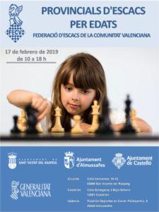 Provinciales Edades @ Comunidad Valenciana, España