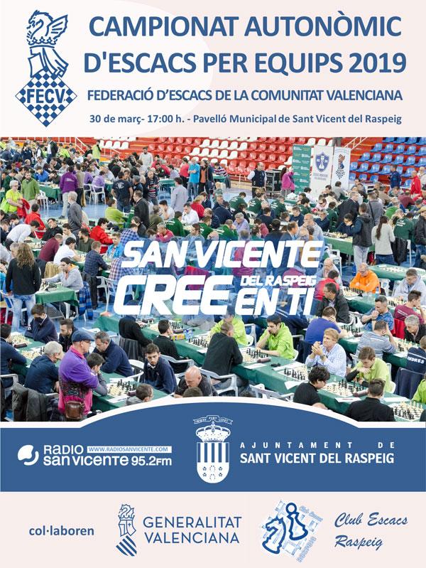 torneo ajedrez clubes equipos, Alicante, España