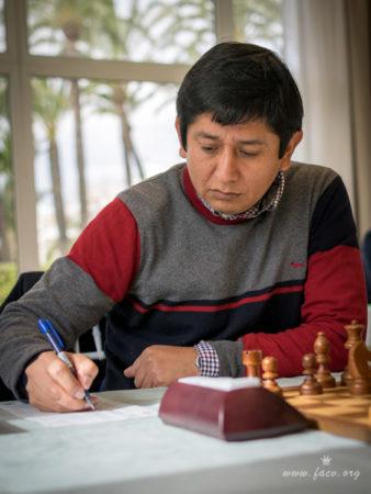 ganador del torneo de ajedrez en Javea