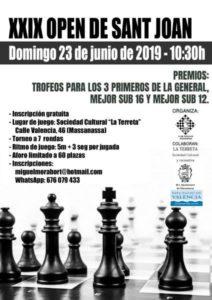 Open de Massanassa @ Centro cultural La Terreta,