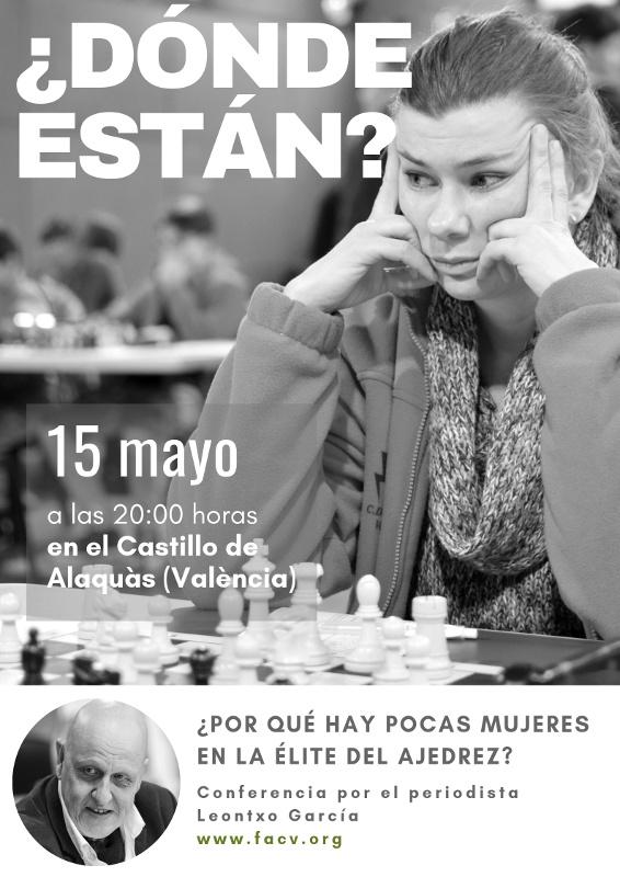 ajedrez y mujer