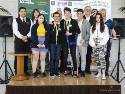 campeones del torneo de ajedrez