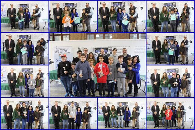 premiados torneo ajedrez aspau